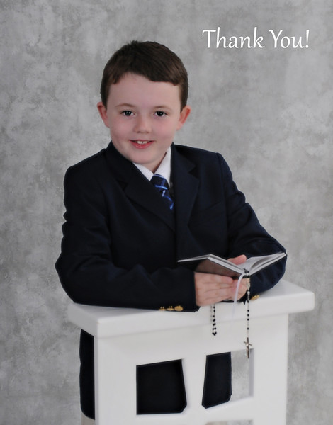 Ethan Gray- 1st Holy Communion Portraits