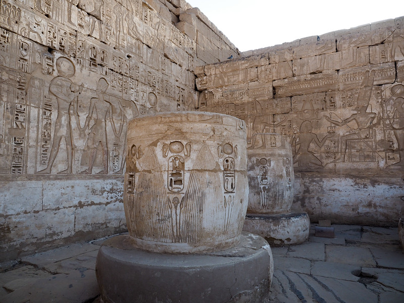 Madinat Habu Temple in Luxor