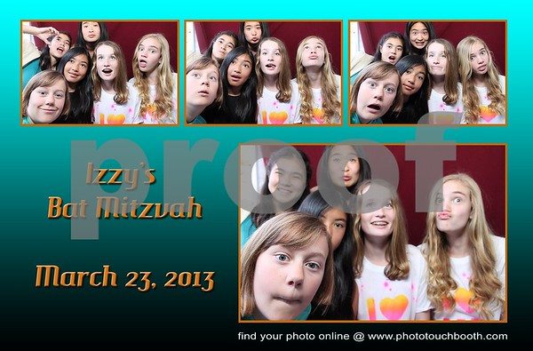 Izzy's Bat Mitzvah Party