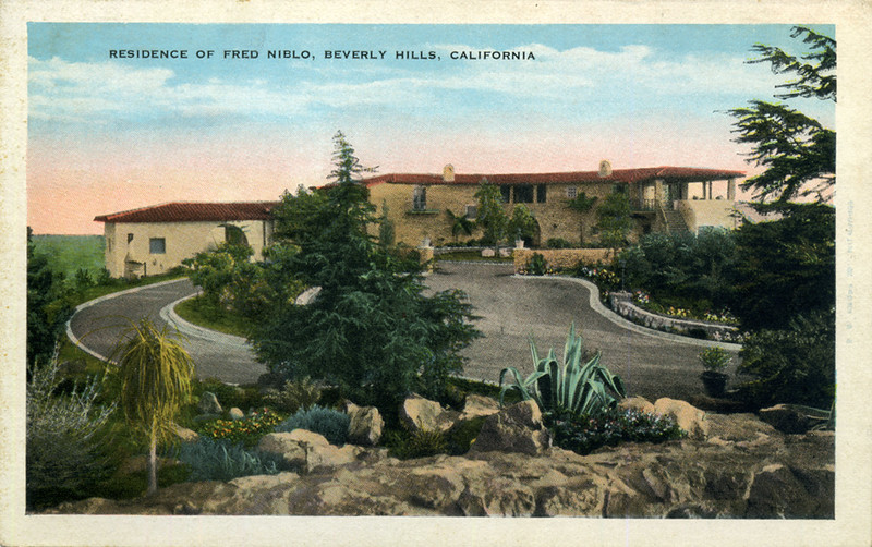 Residence of Fred Niblo