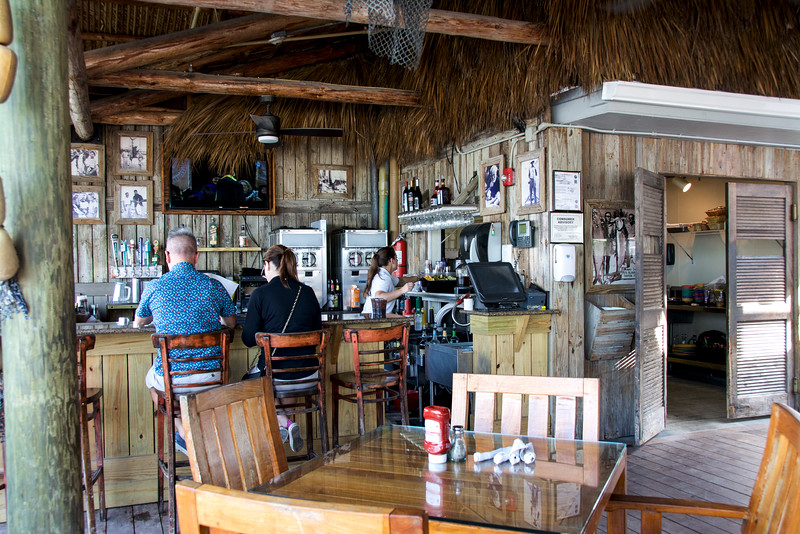 The bar at Islamorada Fish Company