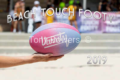 Beach Touch Footy 2019
