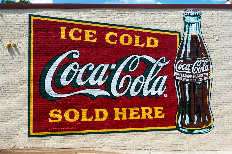 GA, Atlanta - Coca Cola Wall Sign 05