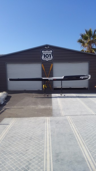 Epic V8 Surfski in Elite - WOW!