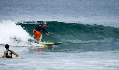 Surfing Avellanas, Costa Rica