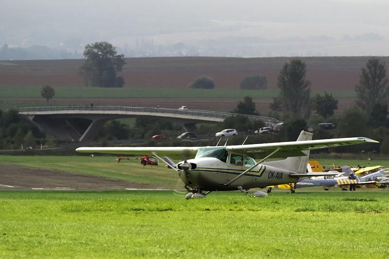 Další Cessna C172 z Vyškova