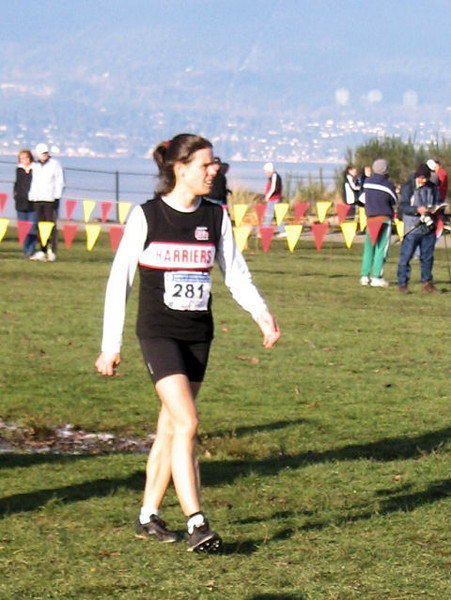 2005 Canadian XC Championships - Meghan Day
