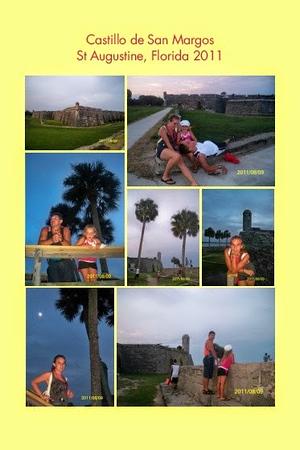 FL, St. Augustine - Castillo de San Margos