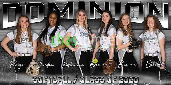 2020 Dominion Softball