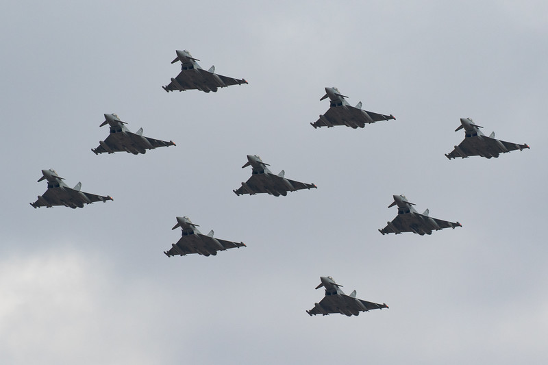 RAF 100 Fly-past