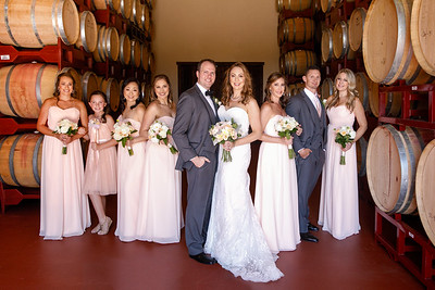 Christina and Brant - Bridal Party Portraits