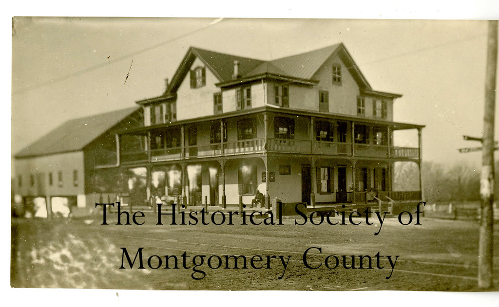. This undated photo from the Historical Society of Montgomery County shows the Waggon Inn in Whitpain at Rt. 202 and Rt. 73. It was founded in 1758 and is now Reed\'s Country Store.