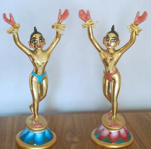 GN painted Deities