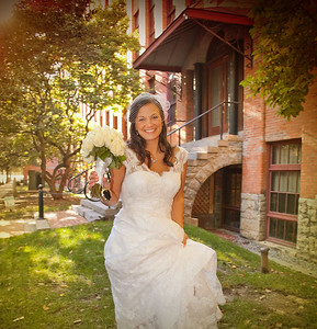 Bridal Party and Family Wedding Photography at Franklin Square Syracuse NY