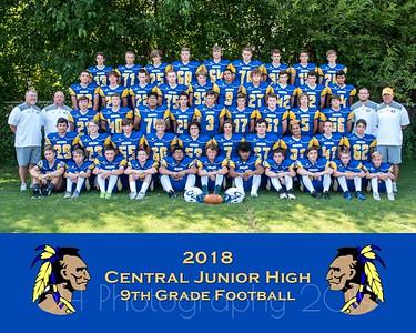 Central Football- 9th Grade