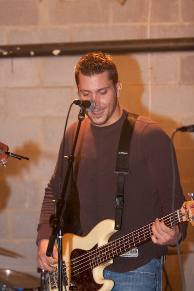 Scott DeCarlo 6 Rehearses on 12/1/2010 for Fundraiser Concert to Benefit St. Lucy's in Newark on 12/11/2010