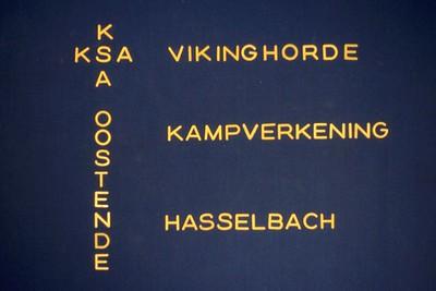 1980-1981 - Kamp - VIK - Kampverkenning - Hasselbach