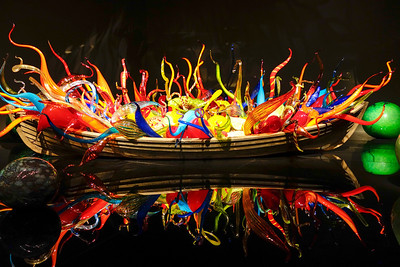 Chihuly Glass Exhibit in Montreal