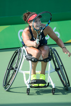 9-11-2016 Women's Singles, Second Round, Mathewson vs. van Koot