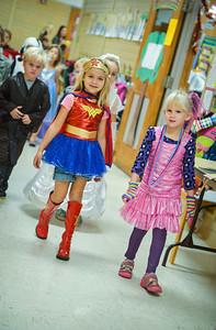 2013 Kindergarten Halloween Parade