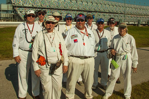 Flaggers at 2015 Run-Offs