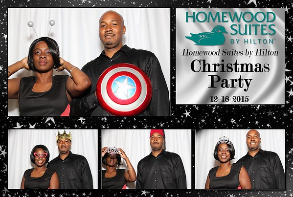 Homewood Suites Christmas Party 12-18-2015