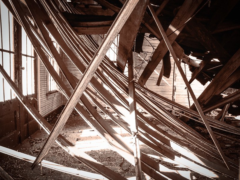 Collapsed roof, Lexington, South Carolina, 2004
