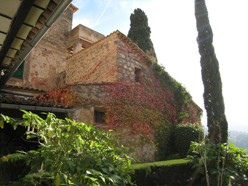 Valldemosa, Spain - Outside of monastery