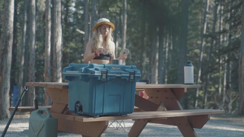Pelican Elite Cooler Camping Kananaskis_mp4.MP4