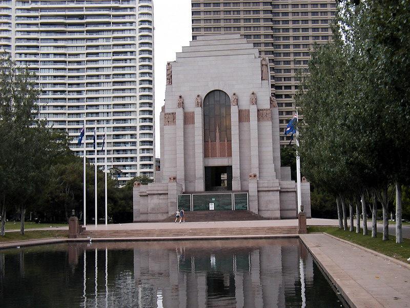 Anzac War Memorial in Hyde Park
