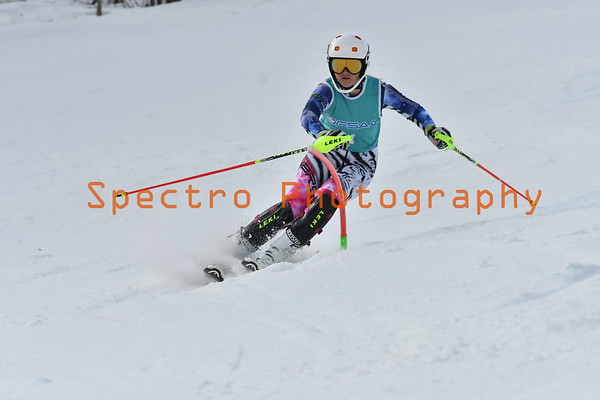 OFSAA Alpine 2017 Open Slalom Girls