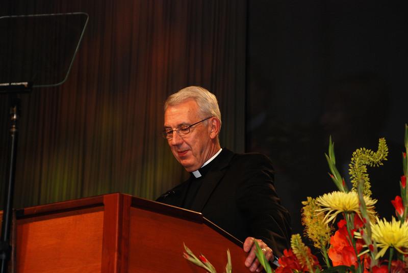 Servus Dei medal presentation to the Rev. Lowell G. Almen, ELCA secretary. The Almen Family.