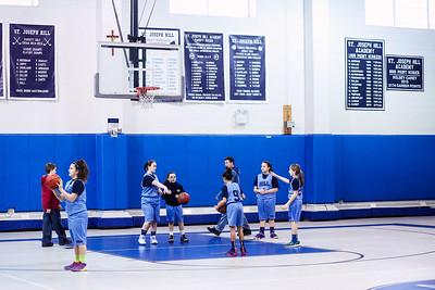 St Joseph Hill CYO basketball 2016