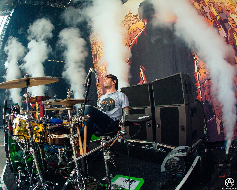 Alex Shelnutt of A Day To Remember at Leeds Festivals