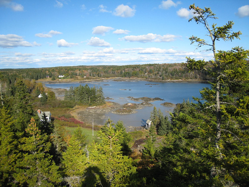 View from Tip Toe Mountain - Vinalhaven Island