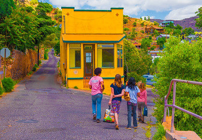 'Girls On Lunchbreak,' Bisbee, AZ 2015.