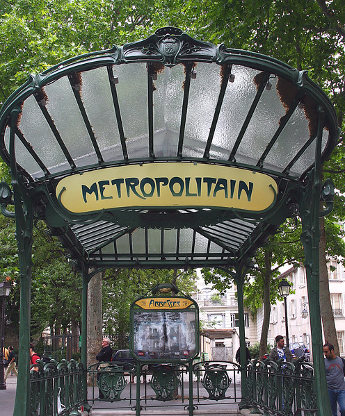 Even the Metro (subway) stations are beautiful