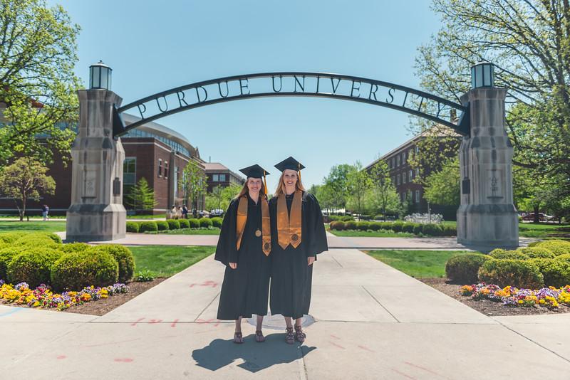 Caitlin & Kelly Grad