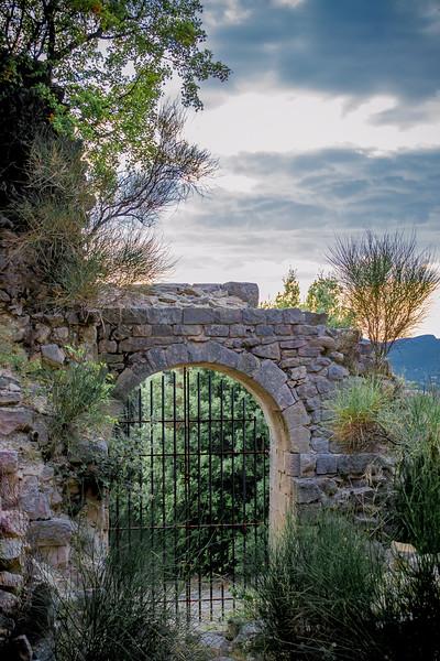 Entrée du Castellas