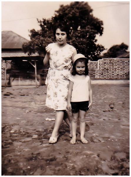 Odete Ermida e filha Isabel