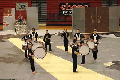 03-01-08 Indoor Drumline Practice