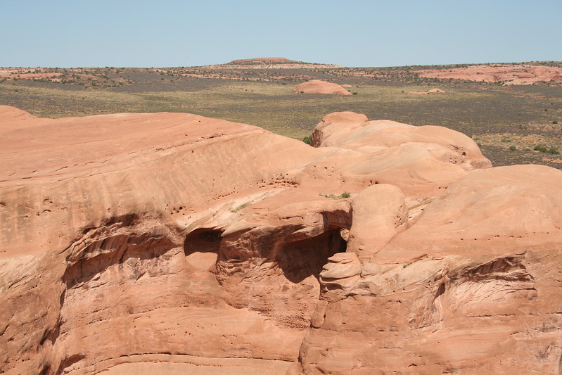 20080908-037 - Arches NP - 25 Arch on Delicate Arch Trail.JPG