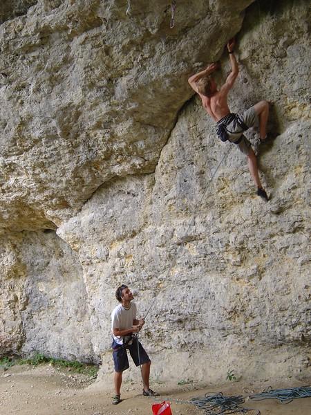 Jura Rock Climbing