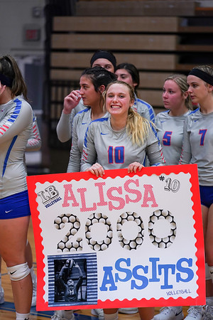 LB VB Alissa Rhodes 2,000th Assist (2019-09-24)