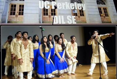 Dil Se group of UC Berkeley in ViBha designs!
