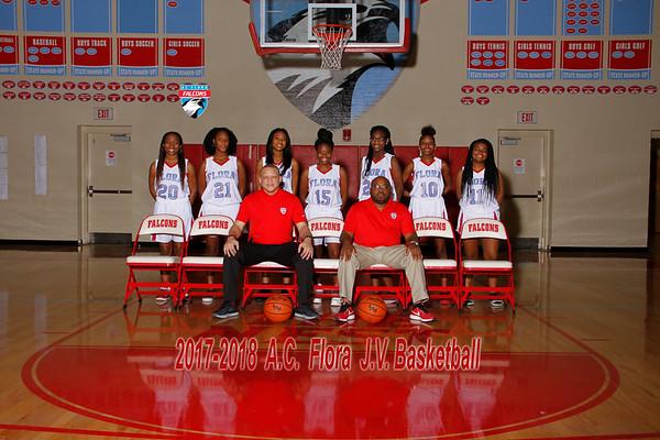 2017-2018 Girls Basketball JV