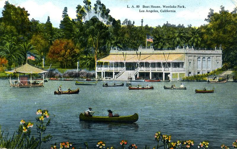 Boat House in Westlake Park