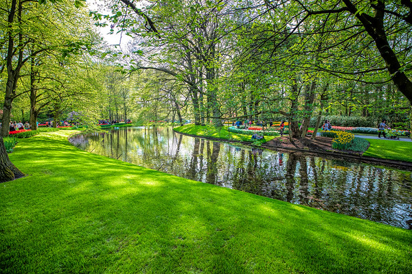 Claude Monet's garden at Giverny, France & Keukenhof, Lisse, South Holland, Netherlands