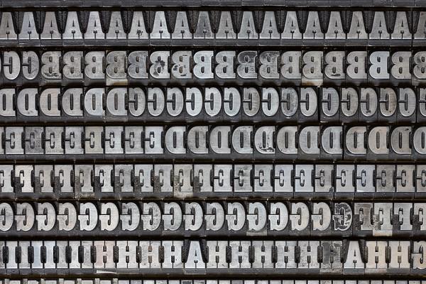 """Slab Serif, """"Egyptian"""" Typefaces - Caratteri egiziani"""