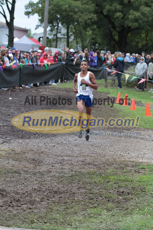 Boys D1 Finish - 2014 Nike Holly Duane Raffin Cross Country Invite
